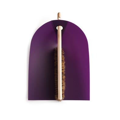 Lopatka a smetáček Dustpan & Broom, fialová
