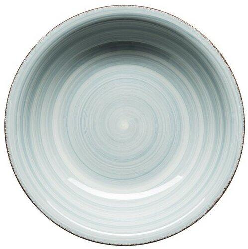 Mäser Keramický hluboký talíř Bel Tempo 21,5 cm, sv. modrá