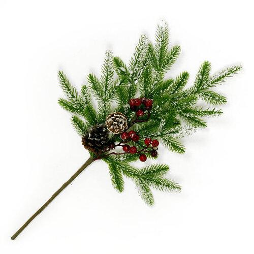 Autronic Větev, umělá vánoční dekorace SF1074
