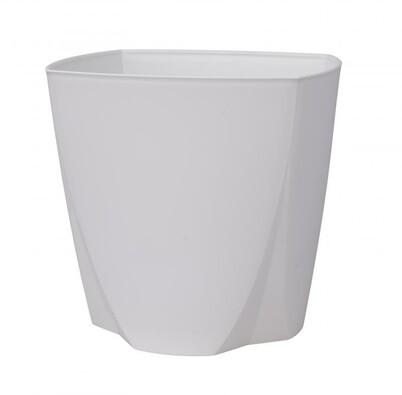 Plastový obal na květináč Camy 21 cm, bílá