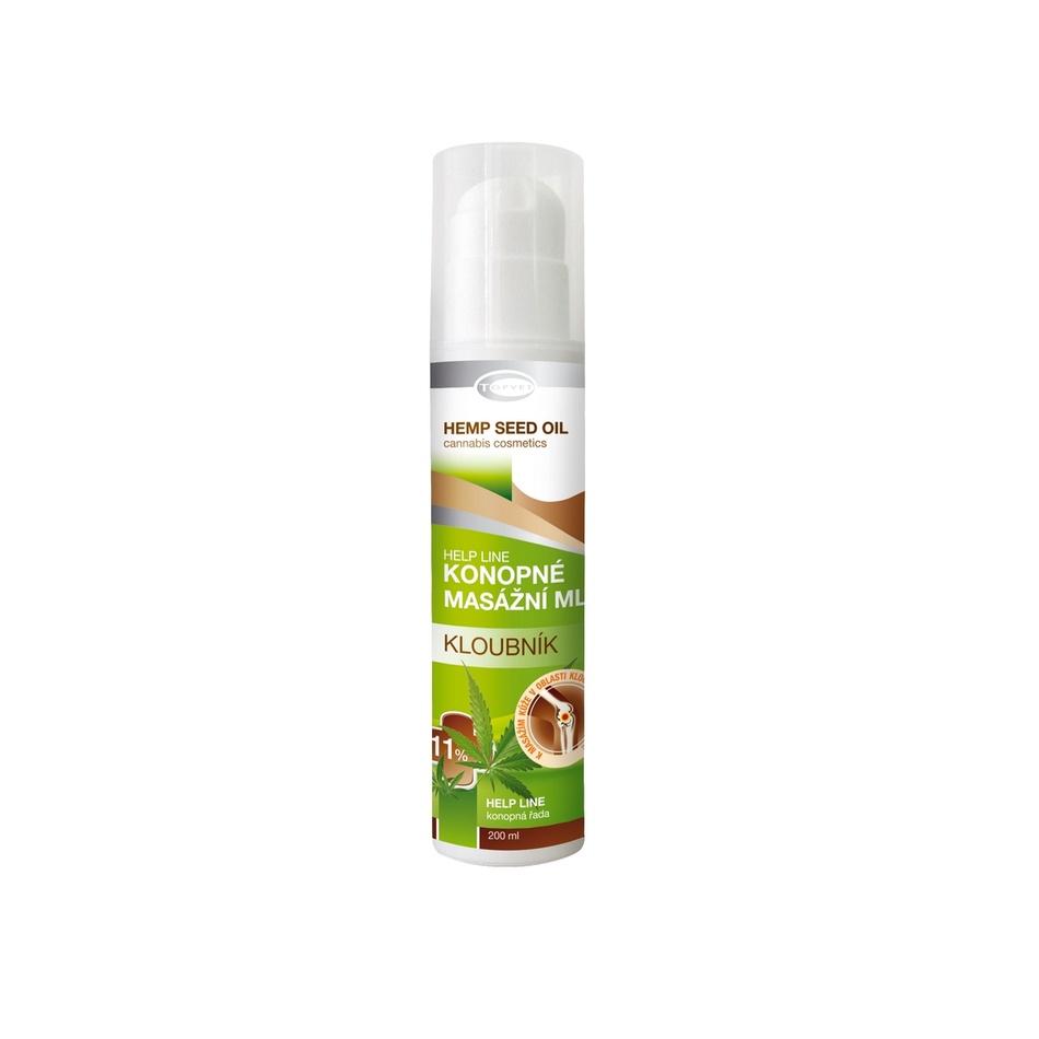 Topvet Regenerační tělové konopné mléko 200 ml