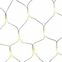 DecoKing Svetelná sieť teplá biela, 200 LED