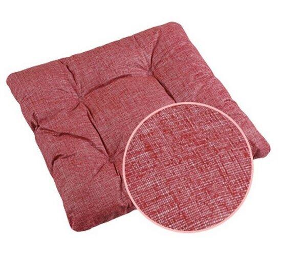 Sedák Adéla UNI červená, 40 x 40 cm, súprava 2 ks