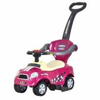 Ecotoys Dětské odrážedlo Auto, růžová