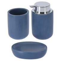 Elegant fürdőszobai készlet, kék