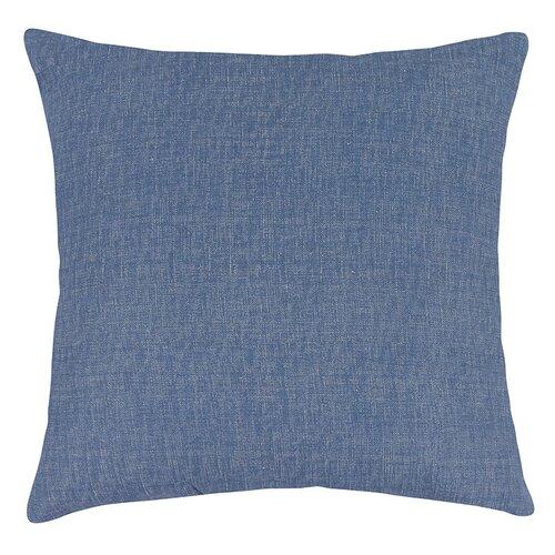 Bellatex Vankúšik Ivo uni modrá režná, 45 x 45 cm