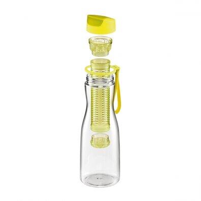 Tescoma Fľaša na nápoje s vylúhovaním PURITY0,7 l, žltá