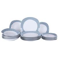 Domestic Abieta étkészlet, 18 részes