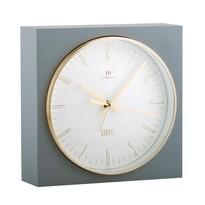 Lowell JA7070G Stolní hodiny s funkcí budíku 16 x 16 cm