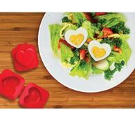 Tvořítko na vajíčka - srdce, červená