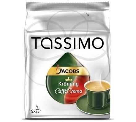 Kapsle Tassimo, Café Crema, 16ks, Jacobs Krönung