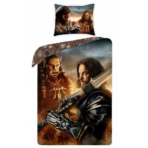 Halantex Bavlněné povlečení Warcraft 0023, 140 x 200 cm, 70 x 90 cm
