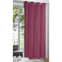 Alessandro függöny karikákkal, purpur, 135 x 245 cm