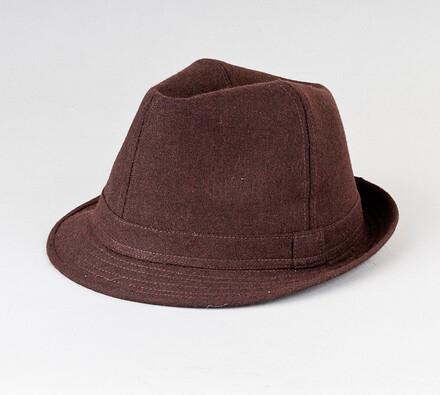 Pánský klobouk Karpet 8090, hnědý, 60