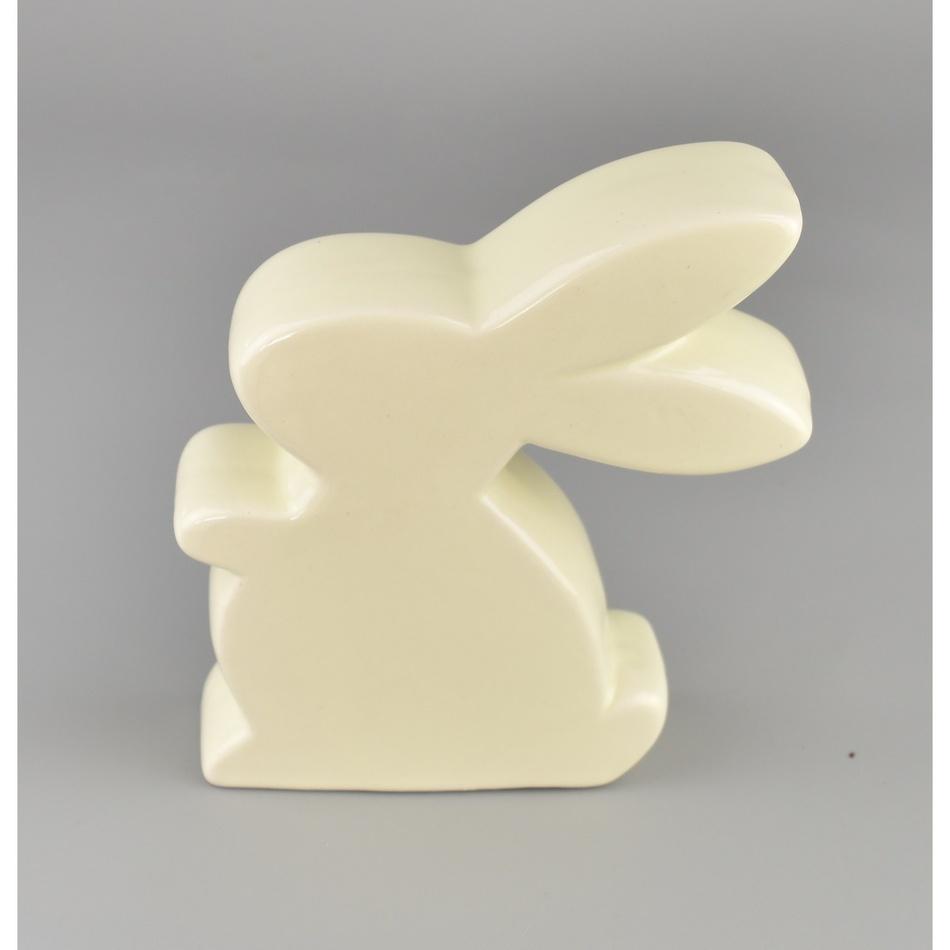 Velikonoční keramický zajíček Kryštof, 12,5 cm