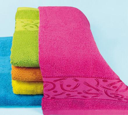 Bavlněné ručníky Coctail