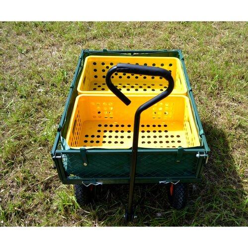 Sharks Zahradní vozík Maxi, 85 x 62,5 x 22 cm