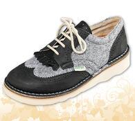 Orto Plus Dámská vycházková obuv vel. 40 hnědá
