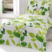 Bavlněné povlečení Fadeks zelená, 140 x 200 cm, 70 x 90 cm