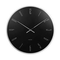 Karlsson KA5800BK Stylowy zegar ścienny, 40 cm