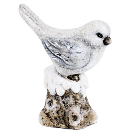 Keramická dekorace Ptáček, 11 x 15 x 7 cm