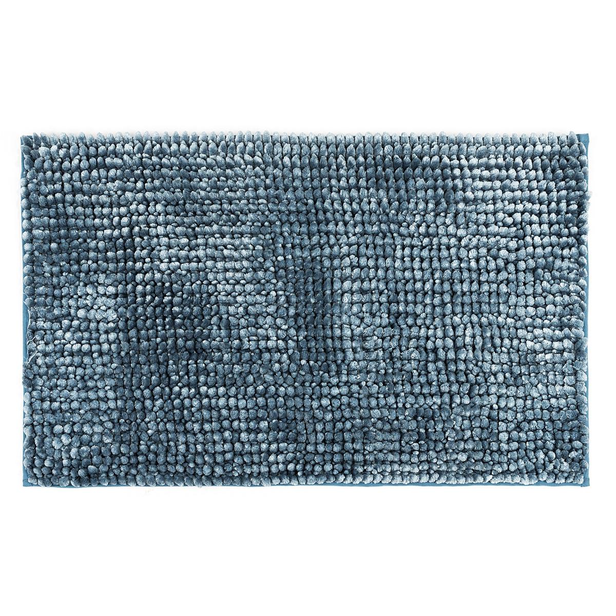 Bo-ma Koupelnová předložka Ella micro modrá, 50 x 80 cm