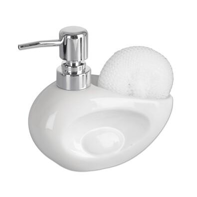 Orion Dozator de săpun Duck, alb