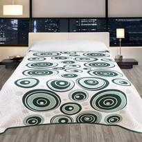 Cuvertură de pat Congo verde, 240 x 260 cm