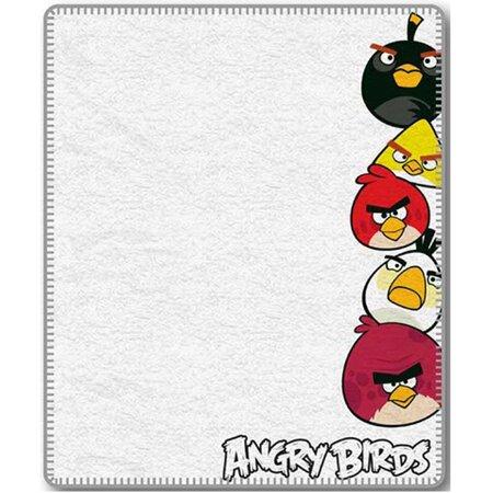 Angry Birds  gyerek pléd, 120 x 150 cm