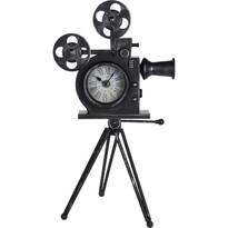 Film Camera asztali óra, 29 x 53 x 30 cm