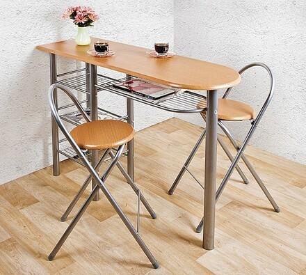 Rozkládací stůl a 2 stoličky