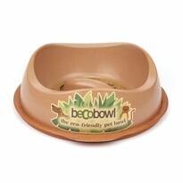 BecoThings Slow Feed ekologická miska pre psa, hnedá