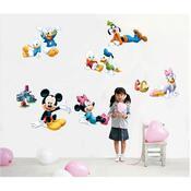 Samolepicí dekorace Mickeyho klubík