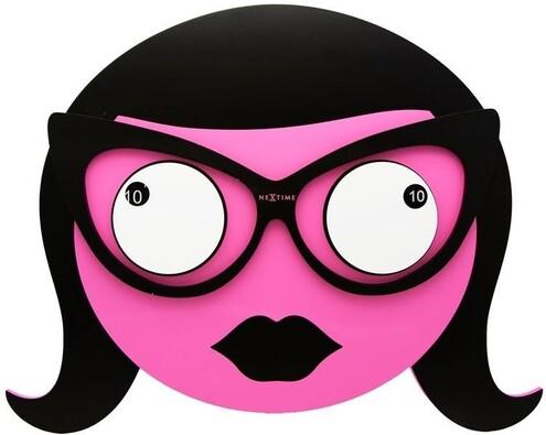 Nextime Ms. Spectacles 3110 nástěnné hodiny