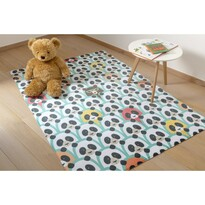 Detský koberec Ultra Soft Panda, 90 x 130 cm