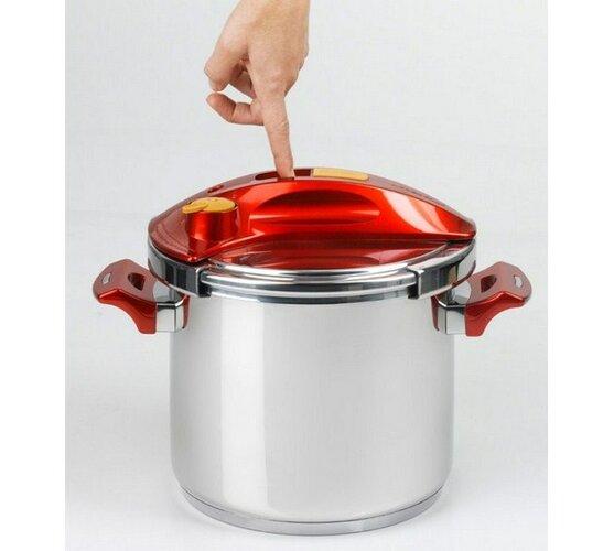 PROFI-CLICK tlakový hrnec 5l stříbrná