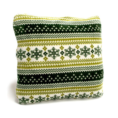Polštářek Beránek zelená, 40 x 40 cm
