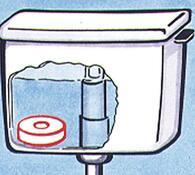 Změkčovač vody bílý
