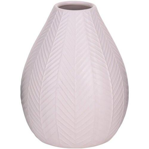 Koopman Keramická váza Montroi růžová, 15,5 cm