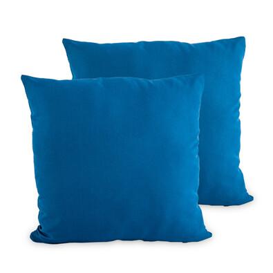4Home Povlak na polštářek tmavě modrá, 40 x 40 cm, sada 2 ks