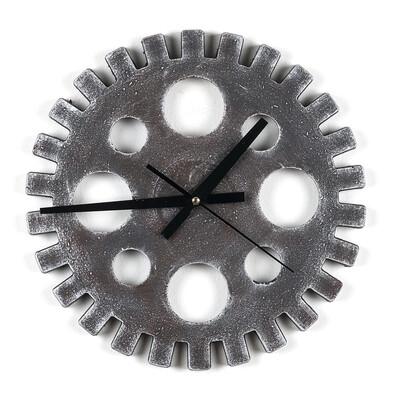 Nástěnné hodiny ozubené kolo