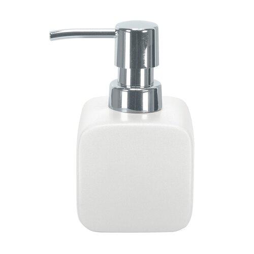Dispenser săpun lichid Kleine Wolke Cubic alb