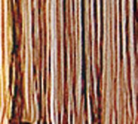 Provázková záclona Aga, hnědá, 90 x 180 cm