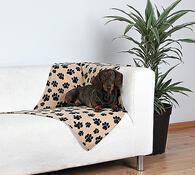TRIXIE fleecová deka pro psy a kočky, černá