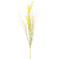 Sztuczne kwiaty polne lawendy 56 cm, żółty