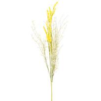 Umelé lúčne kvetiny levanduľa 56 cm, žltá