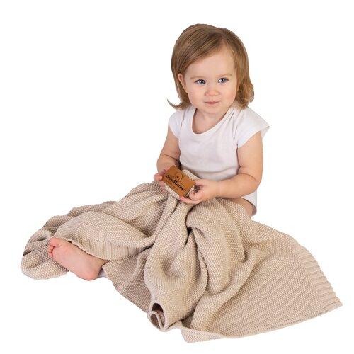 Tully gyermek takaró, bézs, 80 x 100 cm