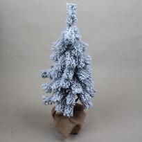 Zasnežený vianočný stromček, 25 x 65 cm
