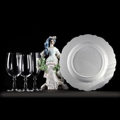 Servírovací podnos Dressed 33,5 cm, bílý