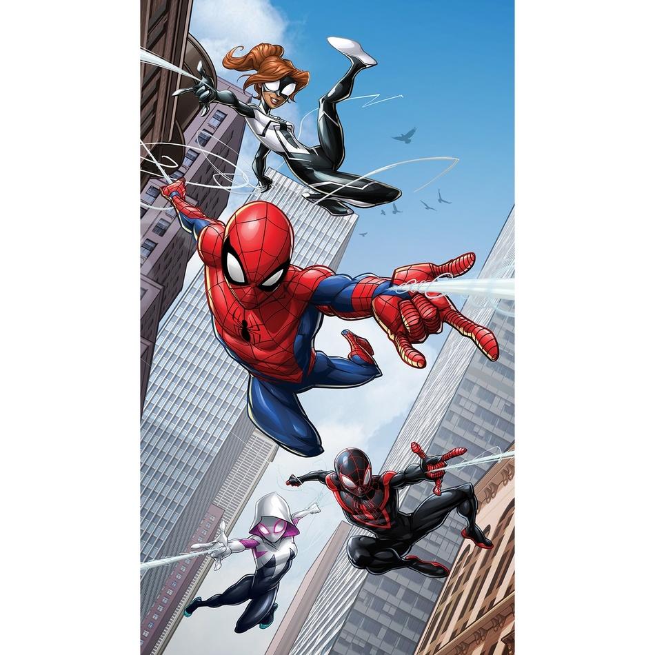 AG ART Dětský závěs Spiderman, 140 x 245 cm